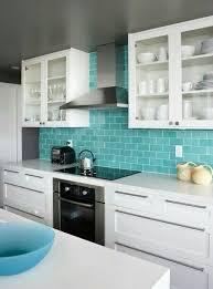 Kitchen Backsplash Glass Tile by 25 Best Tiffany Blue Kitchen Ideas On Pinterest Tiffany Blue