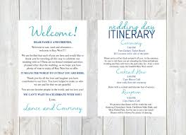 destination wedding itinerary welcome letter wedding welcome letter wedding itinerary