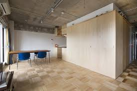 tiny japanese apartment small japanese apartment splits up space with partitions tsukiji