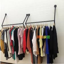 mr kate garment rack and floating shelf closet wall regarding