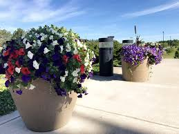 commercial self watering planters commercial planters large
