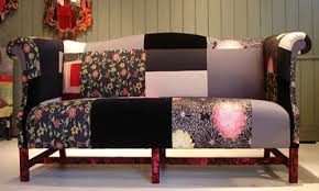 Patchwork Upholstered Furniture - modern patchwork fabric for furniture upholstery is one of country
