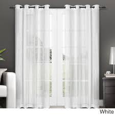 Long Drapery Panels 96 Long Sheer Curtain Panels Window Curtains Drapes Pertaining