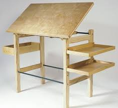 How To Build Drafting Table Drafting Table Reader S Gallery Woodworking Carpintería
