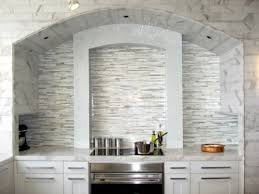 amazingly modern white glass kitchen backsplash my home design