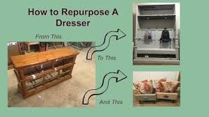 how to repurpose dresser to mudroom hutch 13 steps with pictures