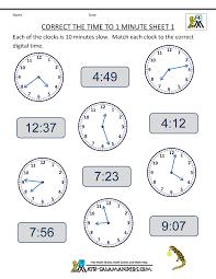 telling time worksheets for 2nd grade fraction for 3rd grade
