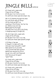 ukulele chords jingle bells by lord pierpont