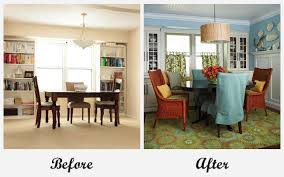 Before And After Room Makeovers Before And After Room Makeovers - Dining room makeover pictures
