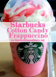 where to buy pink cotton candy starbucks cotton candy frappuccino starbucks secret menu