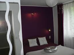 chambre aubergine et gris chambre gris et aubergine photo et chambre gris et jaune prune