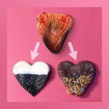 heart shaped items s candy hearts made with real heart foodiggity