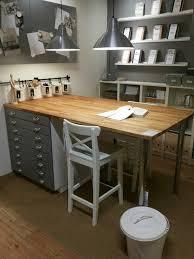 counter height table ikea ikea craft table diy counter height craft table bookshelves ikea