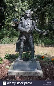 statue of napoleon beside le caillou napoleon s headquarter