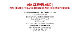 Westlake Reed Leskosky Sponsors Aia Cleveland