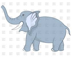 funny cartoon character elephant vector image 109095 u2013 rfclipart