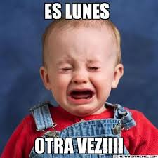 Laughing Baby Meme - memes de es lunes buscar con google spanish humor pinterest