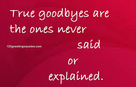 bye quotes for seniors touching farewell words images