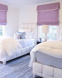 lavender guest bedroom design by collins interiors two twin best