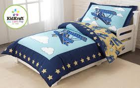 airplane toddler bedding set