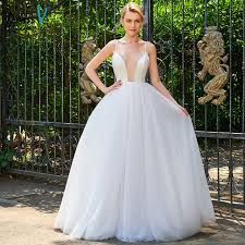spaghetti wedding dress dressv spaghetti straps gown wedding dress sleeveless tulle
