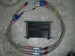nissan skyline oil filter r32 gtr oil cooler fitment in bumper on pass side skyline owners