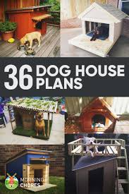 36 free diy dog house plans u0026 ideas for your furry friend