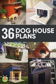 Home Planes 36 Free Diy Dog House Plans U0026 Ideas For Your Furry Friend