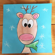 free reindeer template and craft