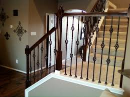 How To Install Stair Banister Trendy Iron Stair Balusters Design Latest Door U0026 Stair Design