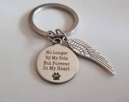 remembrance keychain memorial remembrance keychain support small businesses pin