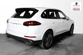 porsche 2017 white new 2017 porsche cayenne platinum edition