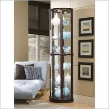 Glass Curio Cabinet With Lights Curio Cabinets Glass Display Cabinets