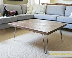 Hairpin Legs Coffee Table Hairpin Leg Coffee Table Hairpinlegs Pinterest Hairpin