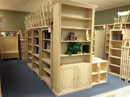 Unfinished Furniture Bookshelves by Woodland Unfinished Furniture Closed Furniture Stores