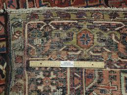 7x12 Rug by 7x12 Persian Heriz Rug Semi Antique Iran Hand Woven Iran Ebay