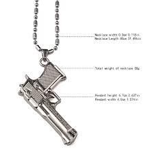 aliexpress buy nyuk new fashion american style gold nyuk new fashion american style gold silver pistol pendant