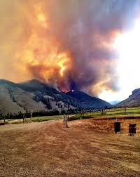 Wild Fires In Idaho And Montana by Lodgepole Fire Idaho Natural Hazards
