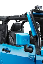 turquoise jeep mopar one is a street legal off road pack for the jeep wrangler