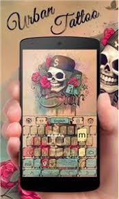 download urban tattoo go keyboard theme 3 92 apk for pc free