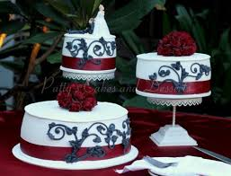 black white and red wedding cakes archives patty u0027s cakes and