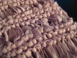 ribbon yarn stitch piece n purl