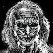game of thrones and white walker contact lenses