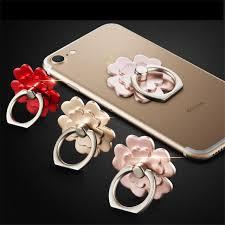 metal rabbit ring holder images Flower 360 degree metal finger ring holder rabbit glitter diamond jpg