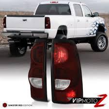 2003 2006 chevy silverado dark red brake tail lights lamps wiring