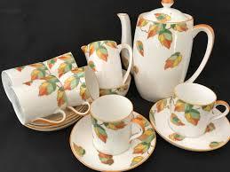 Coffee Set foley e brain deco coffee set for six espresso size cans cups