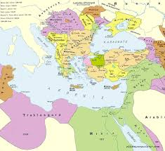 Turkey On World Map by The Ottoman Empire Maps
