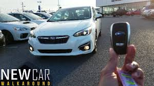 2017 subaru impreza hatchback white 2017 subaru impreza limited sedan in depth walkaround startup