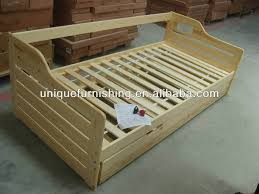 modern quality solid pine wood box bed designs for sofa bed buy
