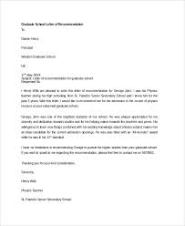 School No Letter Of Recommendation Sle Letter Of Recommendation 20 Free Documents In